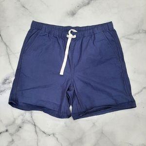Roots Men's Blue Cotton Shorts Medium